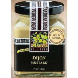 Photo of Hill Farm Mustard Dijon 180gm