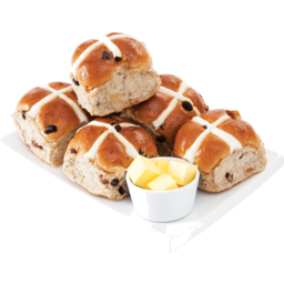 Photo of Couplands Hot Cross Bun 6 Pack