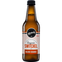 Photo of Remedy Organic Switchel Blood Orange 330ml 330ml