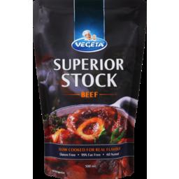 Photo of Vegeta Superior Beef Stock 500ml