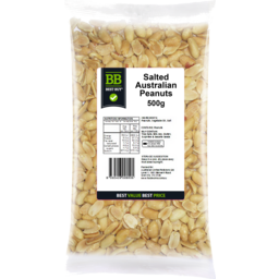 Photo of Best Buy Peanuts Salted 500g