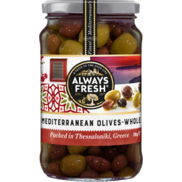 Photo of Always Fresh Mediterranean Olives Whole 295g