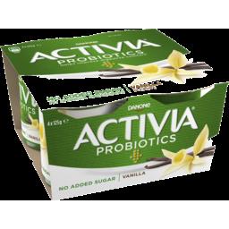 Photo of Danone Activia Probiotics No Added Sugar Vanilla Yoghurt 4.0x125g