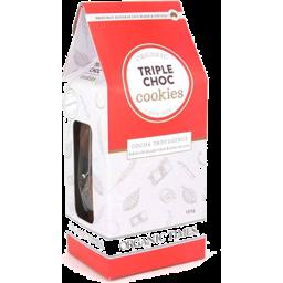 Photo of Organic Times - Triple Choc Cookies - 150g
