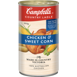 Photo of Campbells Country Ladle Chicken & Sweet Corn Soup 505g