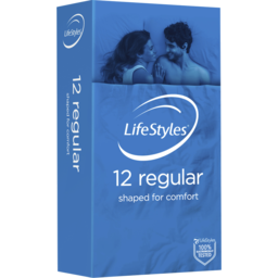 Photo of Ansell Lifestyles Condoms Regular 12 Pk