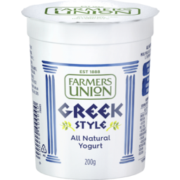 Photo of Farmers Union Greek Yoghurt 200g