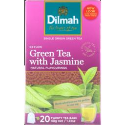 Photo of Dilmah Ceylon Grn Jasm T/Bags 20's
