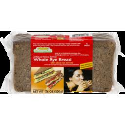 Photo of Mestemacher Organic Wholemeal Rye Bread 500g