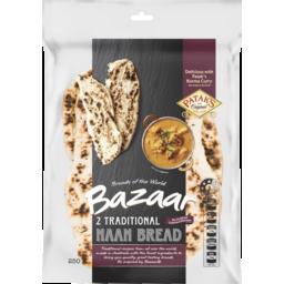 Photo of Bazaar Naan Bread Plain 2pk