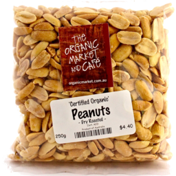Photo of Peanuts - Blanched Dry Roasted Pkt 500g
