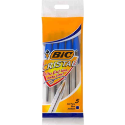 Photo of Bic Cristal Pens Blue 5pk