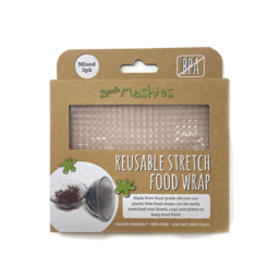 Photo of Little Mashies Food Wrap - Silicone - Small/Med/Large