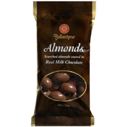 Photo of Ballantyne Chocolate Almonds Bag 190gm