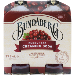 Photo of B/Berg Burgundee Creaming Soda 4pk