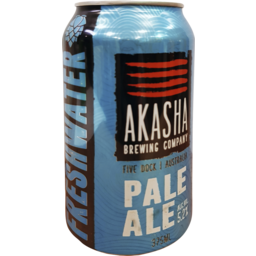 Photo of Akasha Freshwater Pale Ale Cans