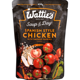 Photo of Watties Soup Of The Day Spanish Style Chicken 430g