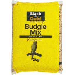 Photo of Black & Gold Budgie Mix 2kg