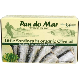 Photo of Pan Do Mar Little Sardines Org Oil 120gm