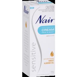 Photo of Nair Sensitive Hair Removal Cream 150g