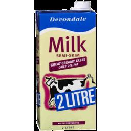 Photo of Devondale Semi Skim Milk 2L