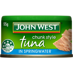 Photo of John West Chunk Style Tuna In Springwater 95g