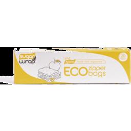 Photo of SugarWrap Zipper Bag (Eco) - Large 20 Bags