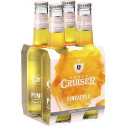 Photo of Vodka Cruiser Pineapple Stubbies