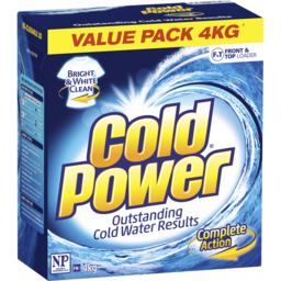 Photo of Cold Power Complete Action, Powder Laundry Detergent, 4kg