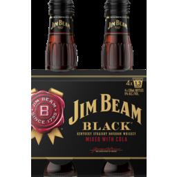 Photo of Jim Beam Black Label & Cola Stubbies