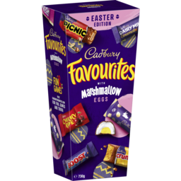 Photo of Cadbury Favourites With Marshmallow Eggs 730g
