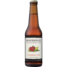 Photo of Rekorderlig Strawberry Lime Cider Bottles