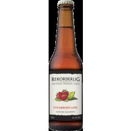 Photo of Rekorderlig Strawberry Lime Cider Bottles
