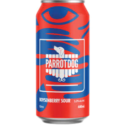 Photo of Parrot Dog Boysenberry Sour Glen 440ml