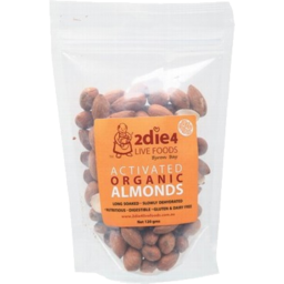 Photo of 2die4 Activated Almonds 120gm