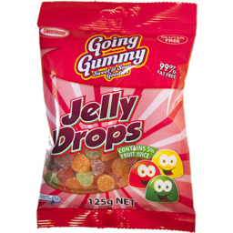 Photo of Going Gummy Jelly Drops 125gm