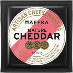 Photo of Maffra Mature Cheddar 150gm