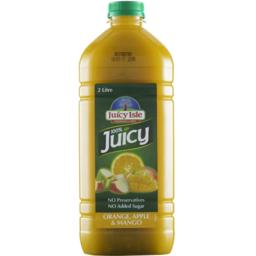 Photo of Juicy Isle Long Life Orange Mango & Apple Juice 2L