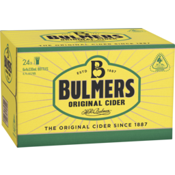 Photo of Bulmers Original Cider Bottles