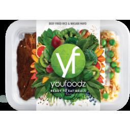 Photo of Youfoodz Beef Fried Rice Wasabi Mayo 255g