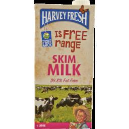 Photo of Harvey Fresh Skim Milk 1lt