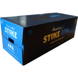 Photo of Stoke Beer American Pale Ale 10 Pack X 330ml