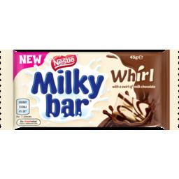 Photo of Nestle Milkybar Chocolate Whirl 45g