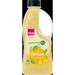 Photo of Community Co Lemon Fruit Cordial 1l