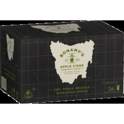 Photo of Bonamy's Apple Cider Bottle 330ml 24 Pack