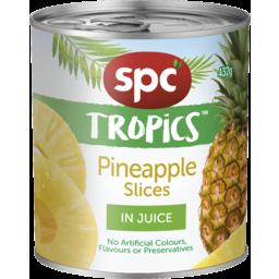 Photo of Spc Tropics Pineapple Slices In Juice 432g