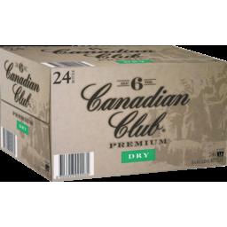 Photo of Canadian Club & Dry Premium Bottles