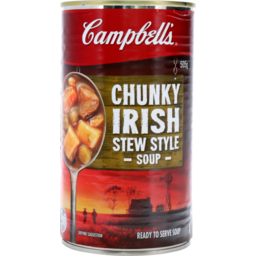 Photo of Campbells Soup Chunky Hearty Irish Stew Soup 505g