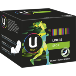 Photo of U By Kotex Sport Liners 30 Pack
