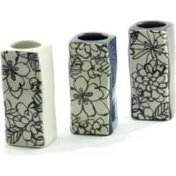 Photo of Monokuro Rectangle Vase 11.5cm